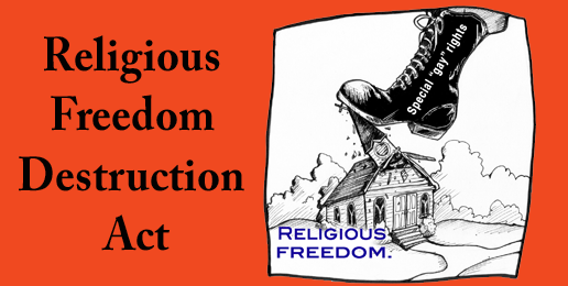 Religious Freedom Destruction Act