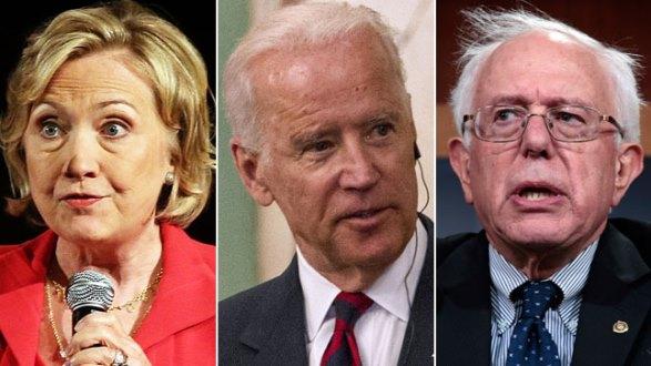 Clinton-Biden-Sanders