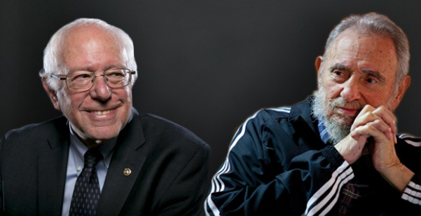 bernie-sanders-and-castro