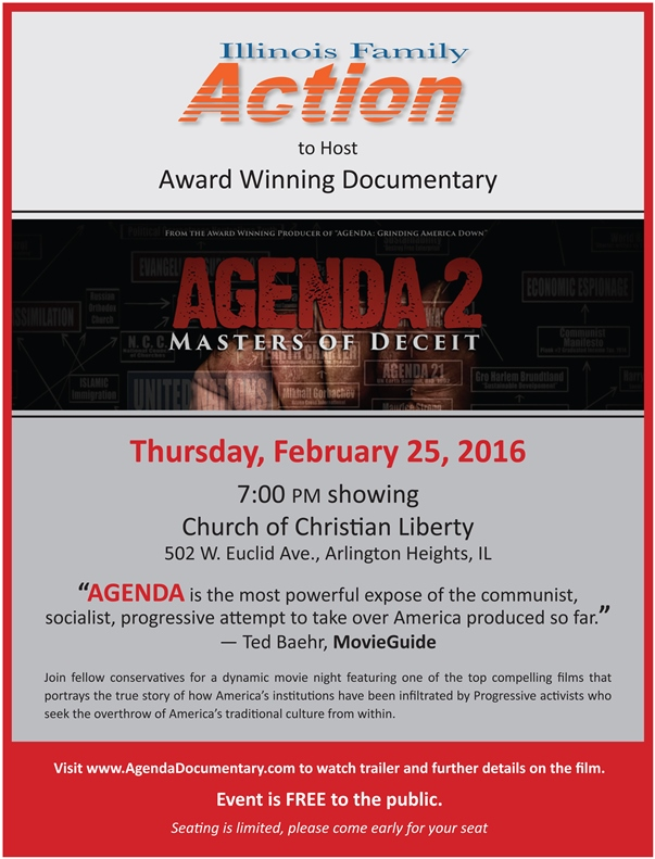 IFA to Host_Agenda 2_Arlington Heights