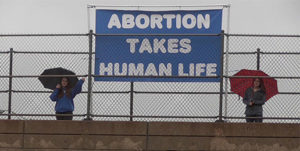 abortion takes human life